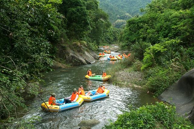 河源万绿谷_河源万绿谷空中漂流秒杀预定仅¥39.9元/张-叹世界中国旅行网
